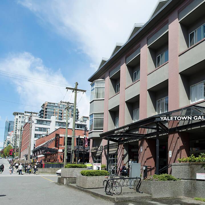 Yaletown Vancouver: Yaletown Galleria
