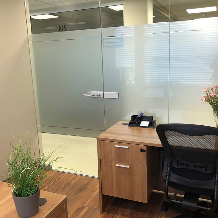 picture of office space for the Lions Gate Centre location