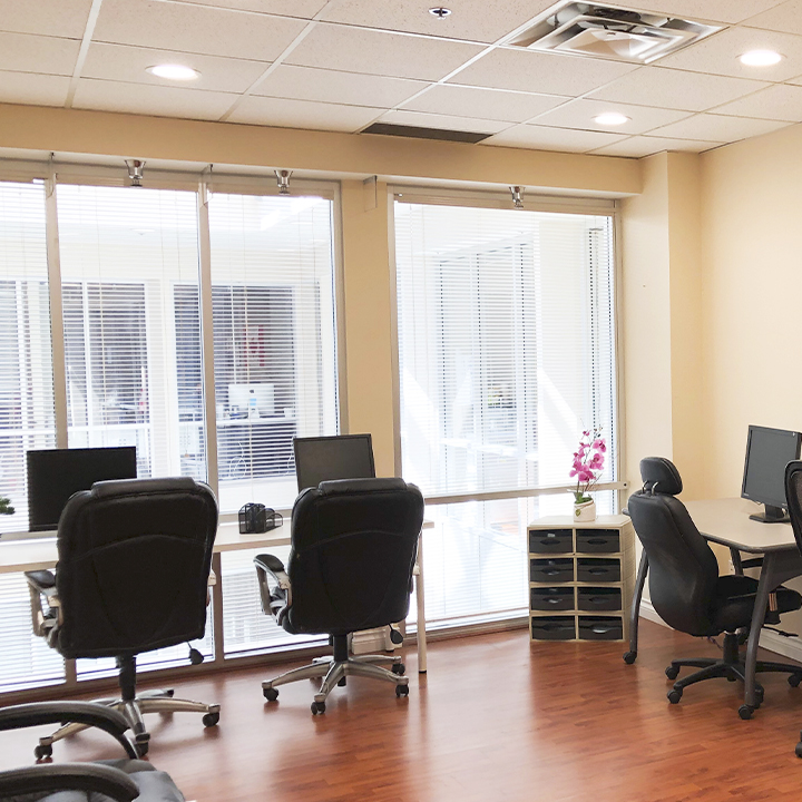 picture of office space for the The Electra location